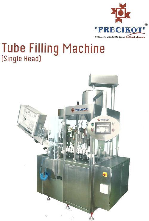 Linear Type Tube Filling Machine- Single Head