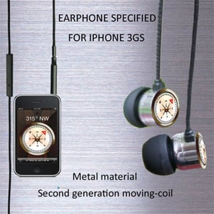 3.5 Gold Plated Earphone For Ipod