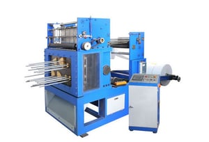 Roll Punching and Die Cutting Machine
