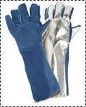 Fire Safety Leather Gloves