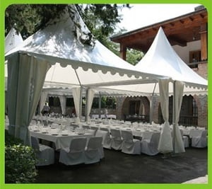 Double PVC Coated Polyester Canopy Tent