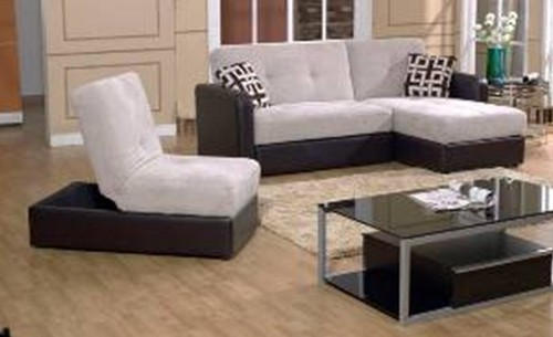 Multi Functional L Shape Sofa Bed With Storage S2031