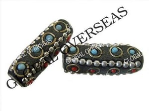 Lac Pipe Beads