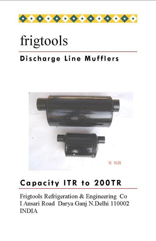 Discharge Line Mufflers