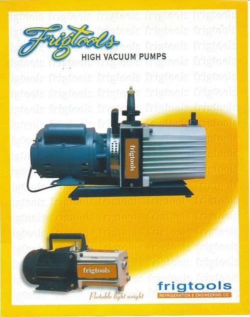 High Vaccum Pumps