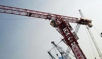 Easy To Use Flat Top Tower Crane