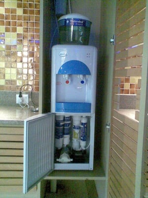 Hot And Cold Water Dispenser With Built-In RO System