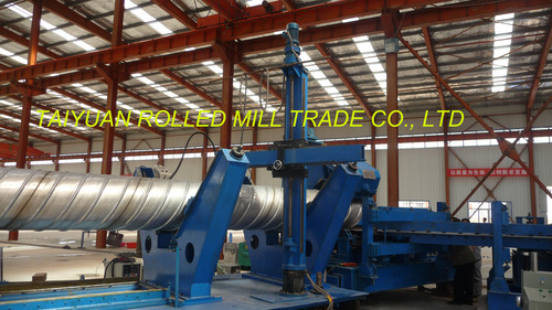 Ss Helical Bellows Roll Forming Mill As Conduit Use