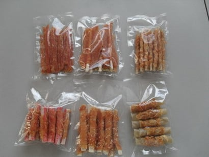 Pet Dried Meat Snacks Application: Dog