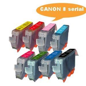 Inkjet Cartridge for Canon 8 Serial