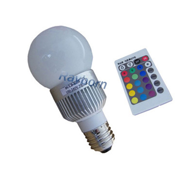 RGB LED Bulb color changing led lamp