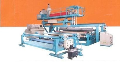 Wide Width Extrusion Lamination Plants For Geo-Textiles & Tarpaulins