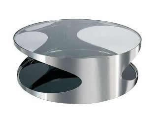 Stainless Circular Coffee Table