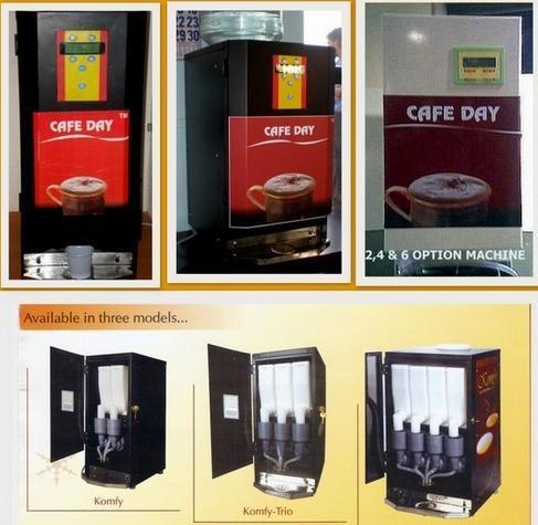 Tea Coffee Vending Machines Cafe Day Office No D 214 2nd Floor Vadaniwala C H S Society Chincholi Bunder Malad West Mumbai India