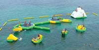 Water Paik Inflatable Play Equipment
