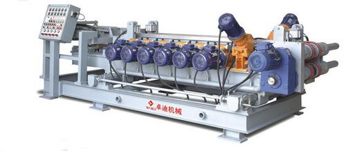Heavy Duty Double Belt Press Squaring/Chamfering Machine