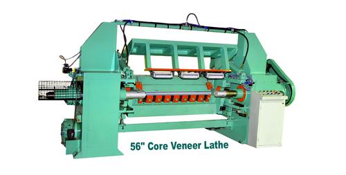 Hydraulic Cum Pneumatic Veneer Lathe