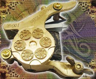 Bronze Tattoo Machine