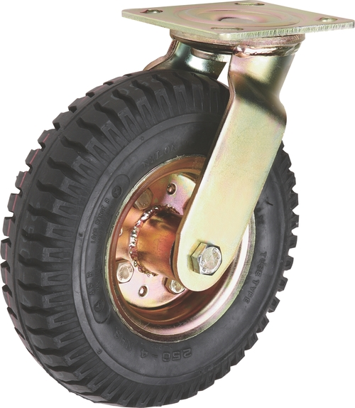 Solid Rubber Tyre Caster Wheel