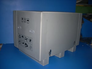 PP Export Box with Lock