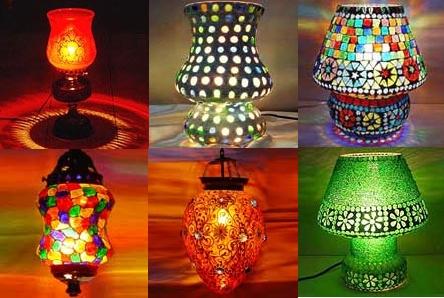 Decorative lamps in hindustan road
