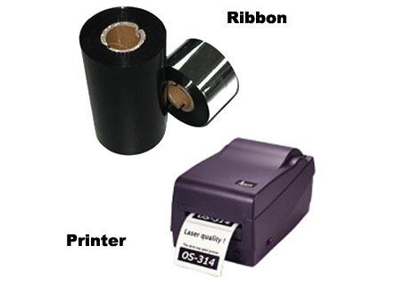 Wax Thermal Transfer Ribbon for Barcode Printers