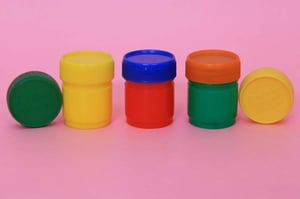 PP Round Balm Jar With Lid