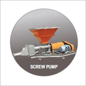Cement Feeding Screw Pump