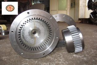 Gear Break Drum Coupling