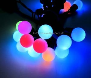 Led Color Change Globe Light With Ic Function