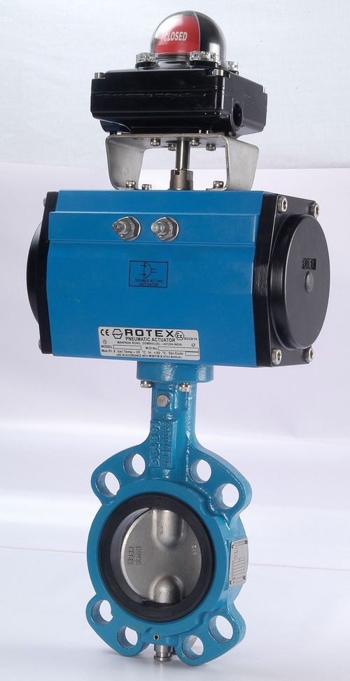 Pneumatic Actuated Butterfly Valves (PABV-02)
