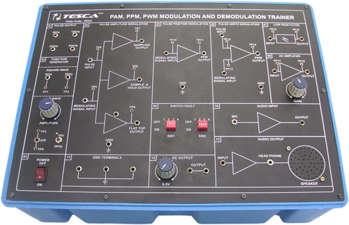Pam-Ppm-Pwm Modulation And Demodulation Trainer (Pam-Ppm-Pwm)