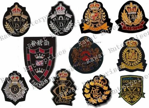 Bullion Embroidery Badges - RAWAT ENTERPRISES, Jawahar Nagar