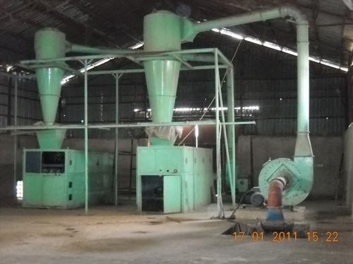 Cotton De-Hulling Plants