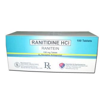 Ranitidine 150 Mg Tablets