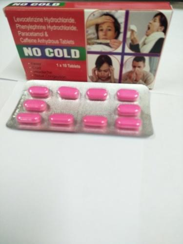 No Cold Tablet General Drugs