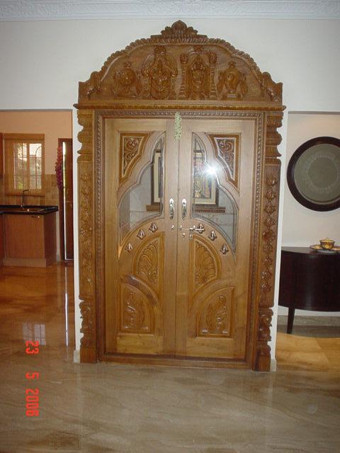 Pooja Room Doors In Bengaluru Karnataka Sai Decors