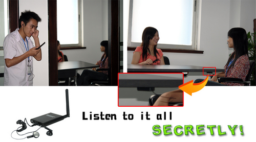 Micro Wireless Audio Recorder