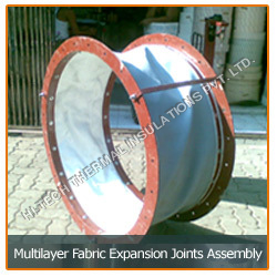 Multilayer Fabric Expansion Joints Assembly