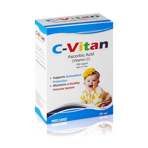C-Vitan Ascorbic Acid 100mg/Ml
