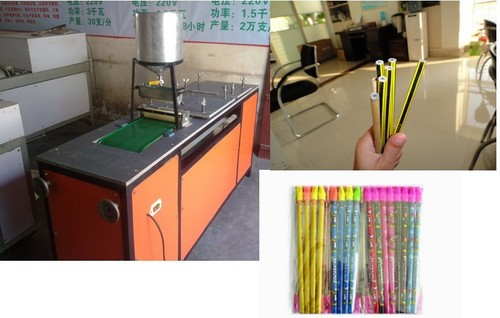 Newspaper Pencil Production Line