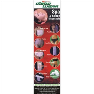 Disposable Spa Products