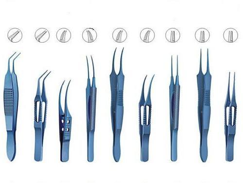 Ophthalmic Forceps-Surgical Instrument
