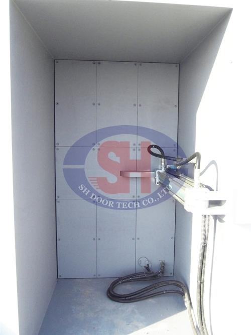 Blast Proof Door with Hydraulic System in Chungju, Chungcheongbuk