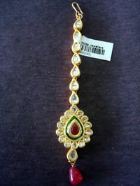 Traditional Kundan Maang Tikka