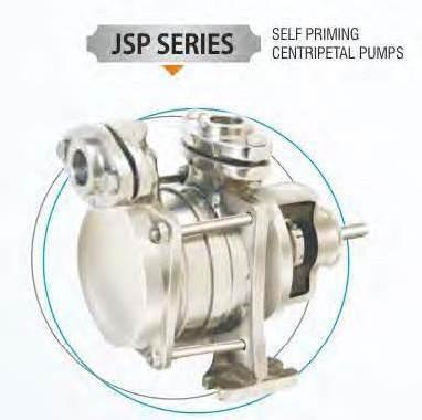Propeller Self Priming Centripetal Pump
