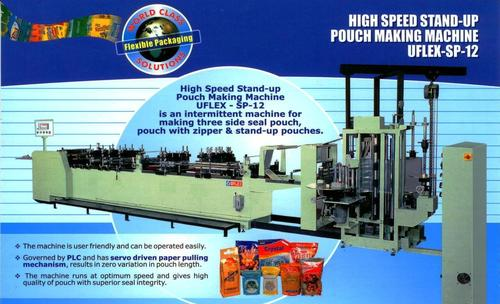High Speed Stand Up Pouch Making Machine