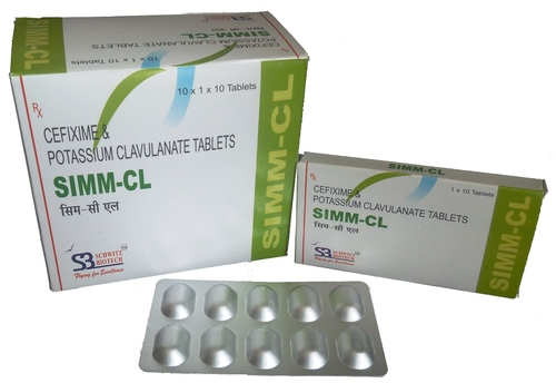 Cefixime And Clavulanate Tablets