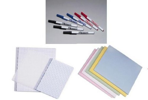 Clean Room Note Books And Pens
