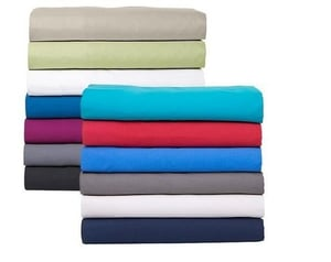 Plain Bed Sheets With Pillow Covers